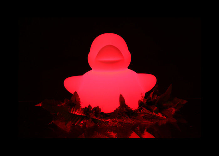 Waterproof Led Glow In The Dark Ducks 16 Kinds Color Changed For Party Decoration